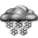 Mostly Cloudy with Slight Chance of Light Snow